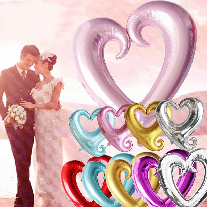 "18"" heart shape wedding favors party decoration balloons"