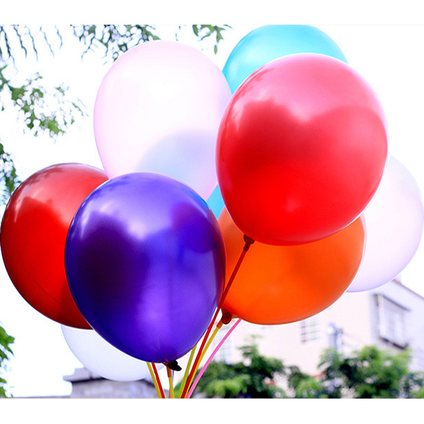 12 inch 3.2g eco-friendly advertising pearl latex balloons
