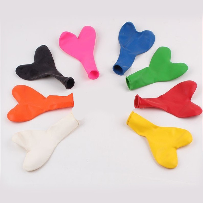 12 inch 3g heart shape standard color party balloons for sale