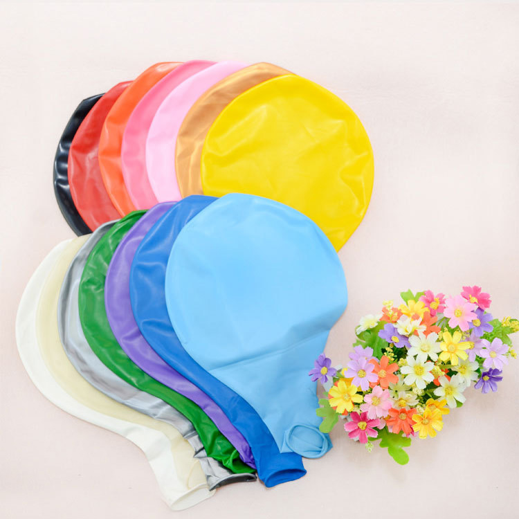 36 inch Large size Giant Colorful round latex balloons