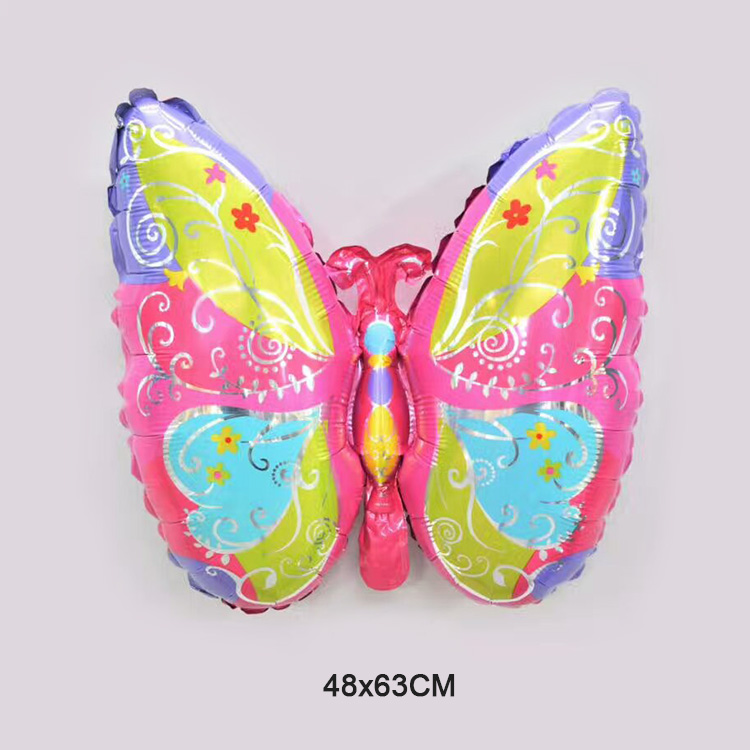 mother's day party decorations butterfly shape helium foil balloon