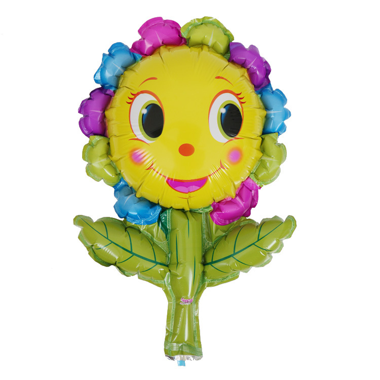 Children's Day flower shape foil balloon for party decoration