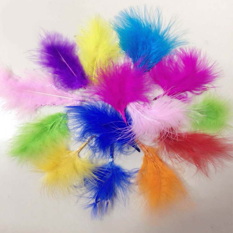 Wedding party decoration feather for TPU transparent balloon