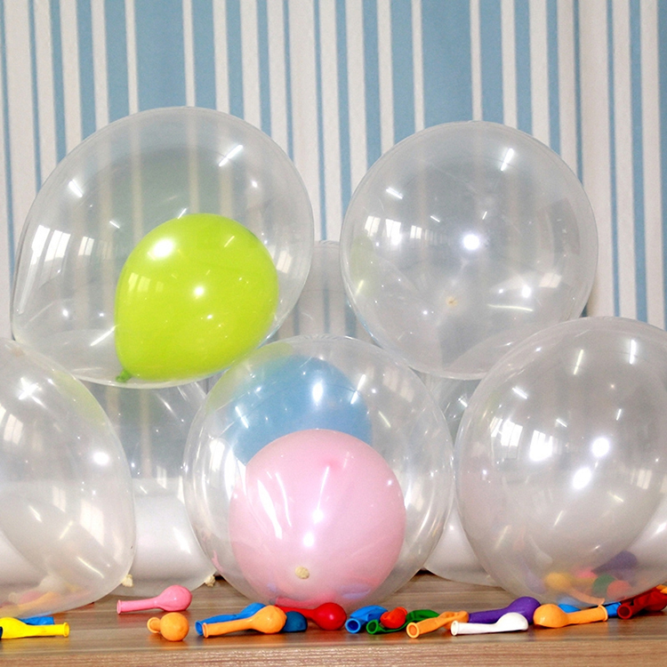 Party supplier weddings decoration 18 inch transparent latex balloons