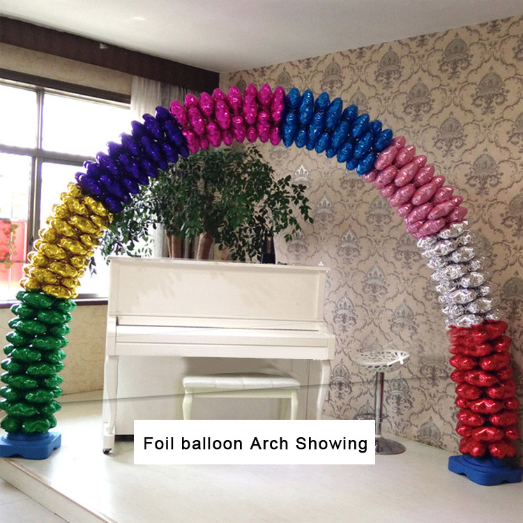 Inflatable Foil balloon arch for wedding party decoration