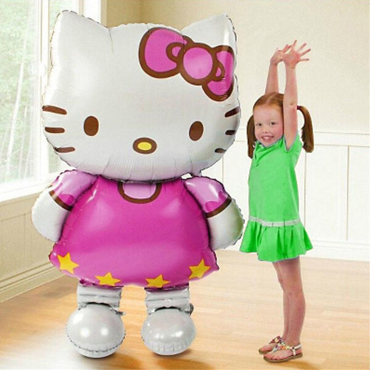 Christmas theme decoration Big size Standing Hello Kitty helium foil balloon