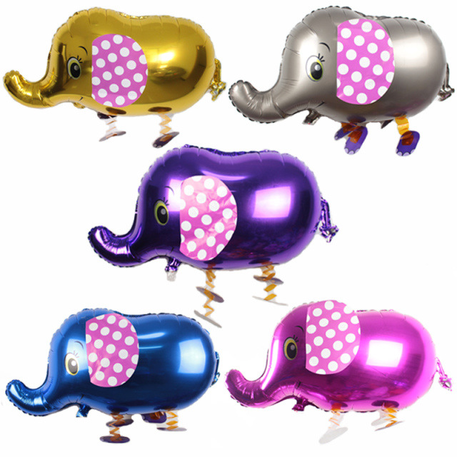 Cartoon elephant aluminium foil balloons