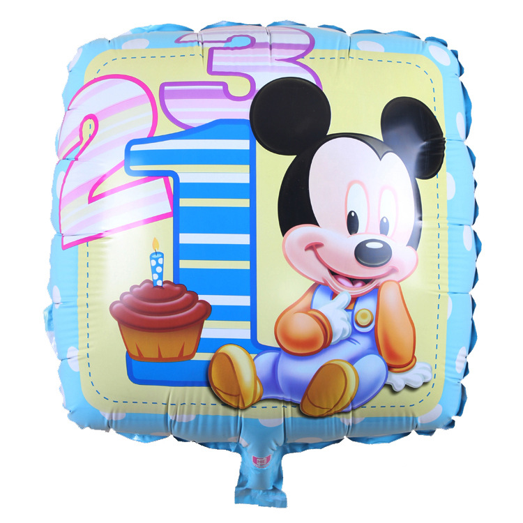 18 inch Mickey square foil balloons