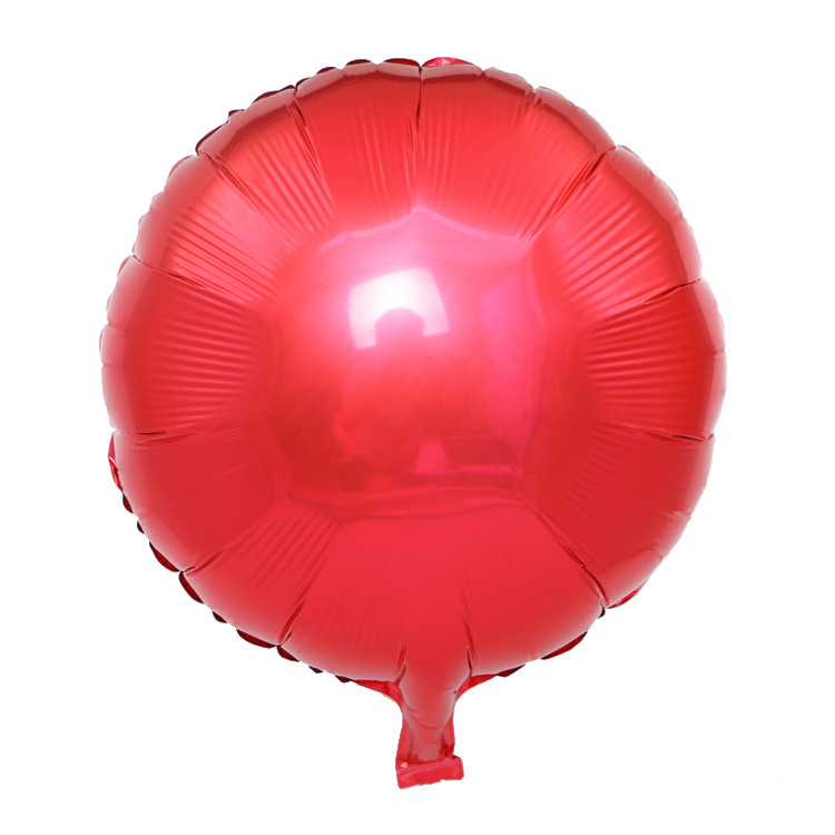 18 inch helium round foil balloons