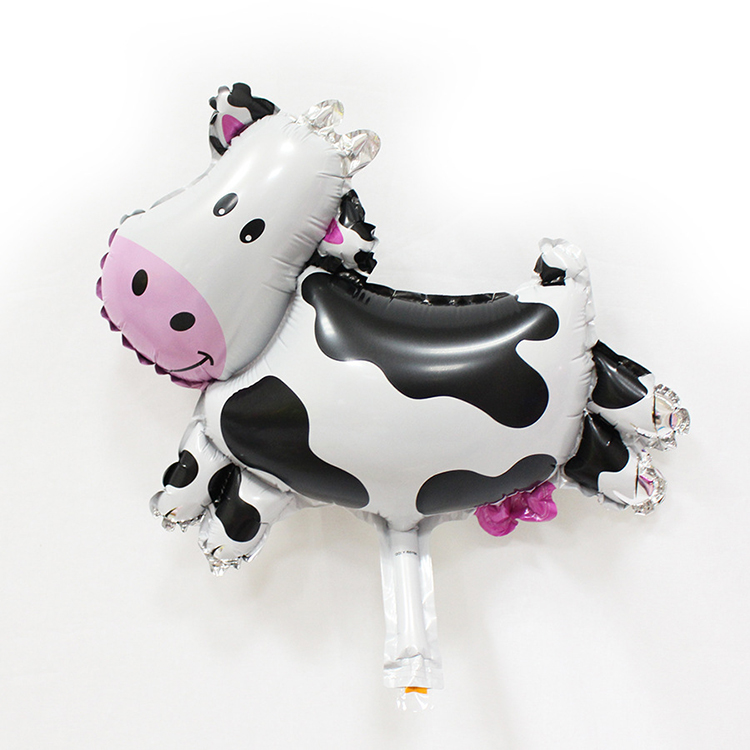 Mini Foil Animal Cow Balloon