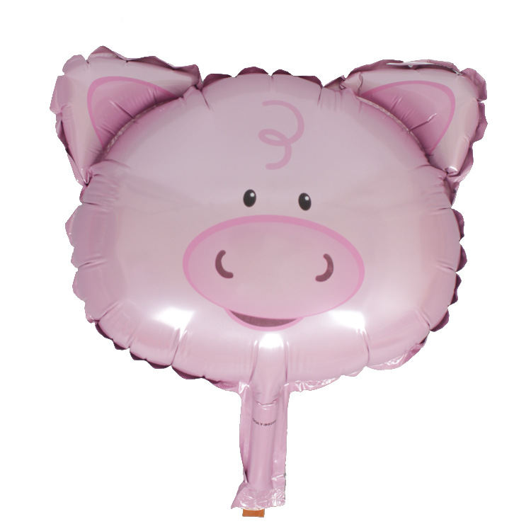 Mini Foil Pig Balloon