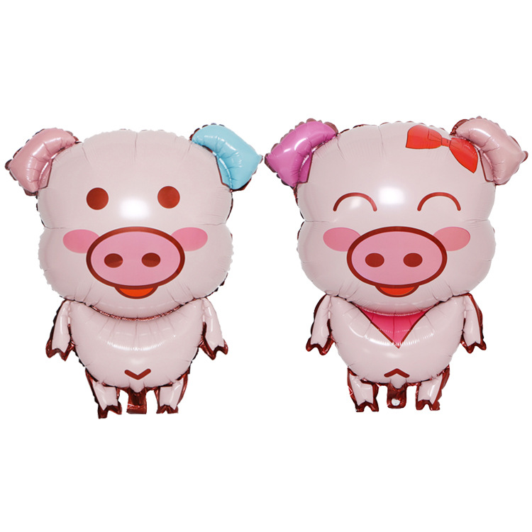 Cute Animal Foil Piggy Balloon