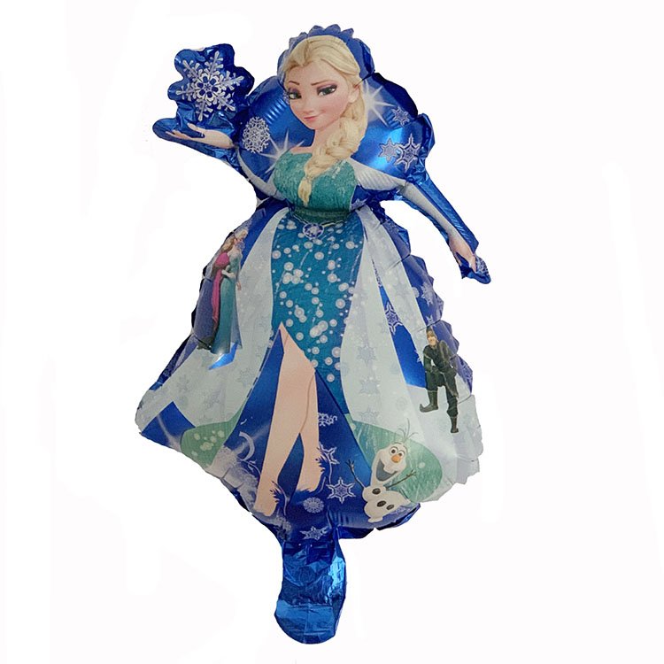 Mini Frozen Princess Foil Balloons
